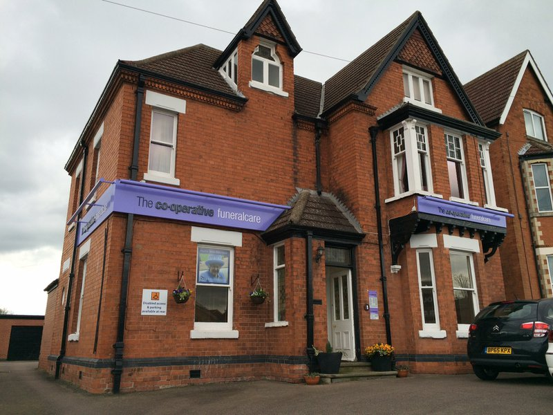 The Co-operative Funeralcare Melton Mowbray, Leicestershire, funeral director in Leicestershire