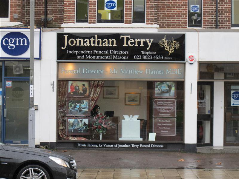 Jonathan Terry Independent Funeral Directors, London Road, Southampton, funeral director in Southampton