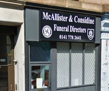 McAllister & Considine, Shettleston Rd