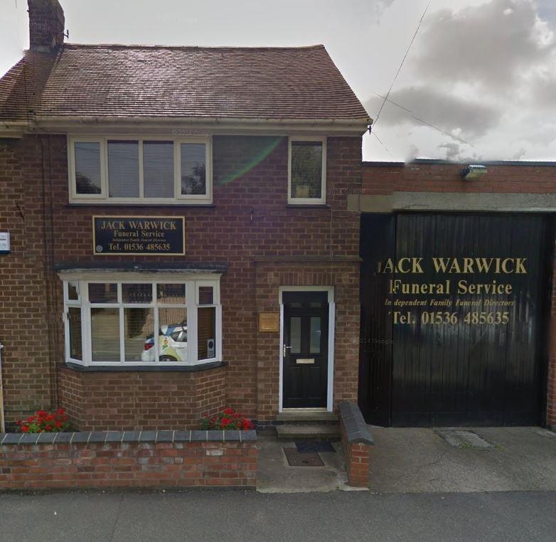 Jack Warwick Funeral Service