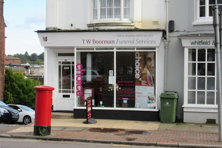 T W Boorman Funeral Services, Tunbridge Wells
