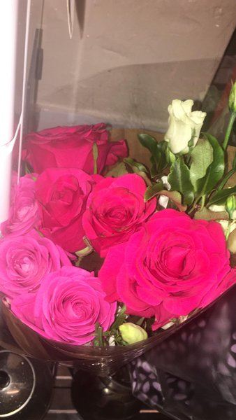 Roses for you both xx