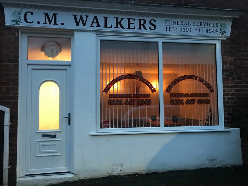 CM Walkers Funeral Services, Village House, Tyne and Wear, funeral director in Tyne and Wear