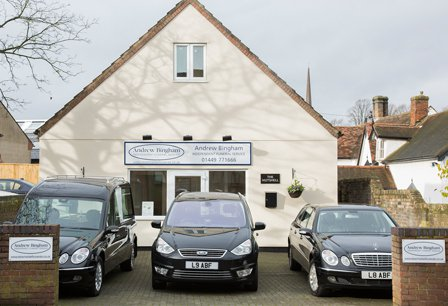 Andrew Bingham Independent Funeral Services, Suffolk, funeral director in Suffolk