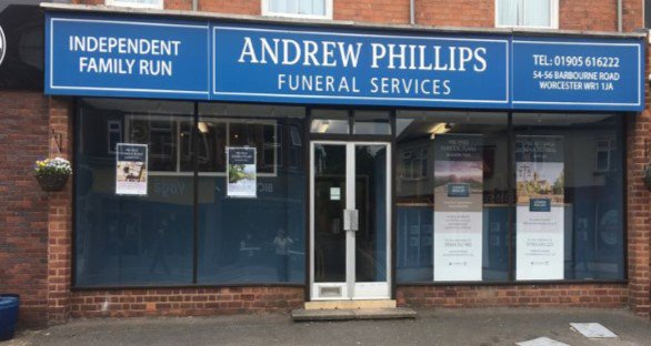 Andrew Phillips Funeral Services , Worstershire, funeral director in Worstershire