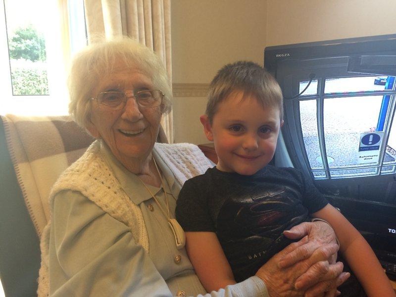 Auntie Dot and Josh xx