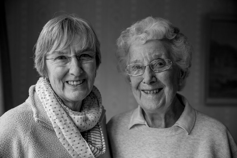 Aunty Felicia and Mum in January 2013