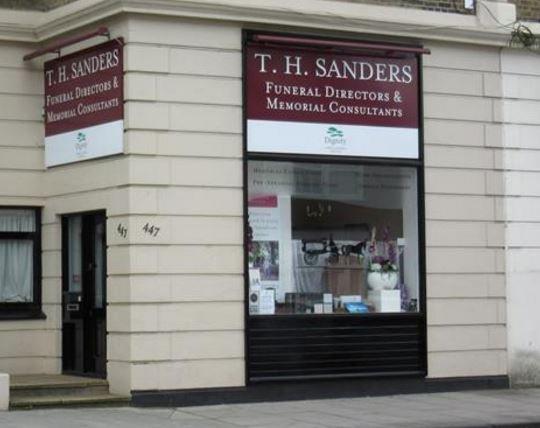 T.H Sanders & Sons Ltd, East Sheen