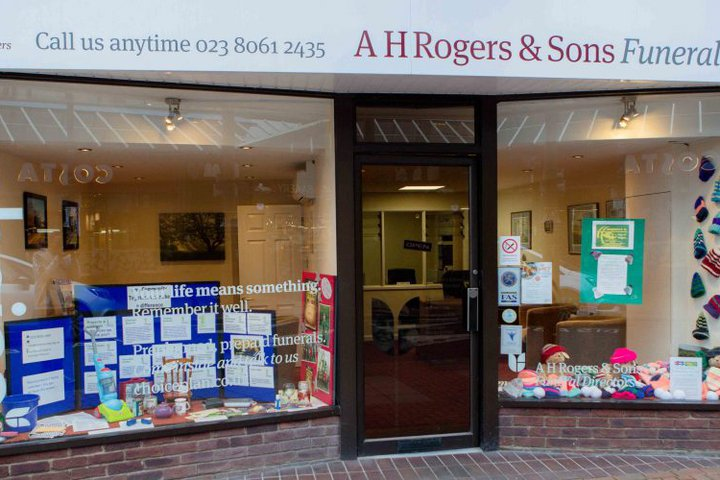 A H Rogers & Sons Funeral Services, Eastleigh