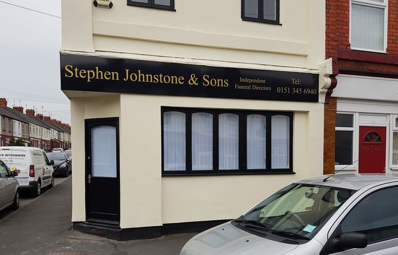 Stephen Johnstone & Son Funeral Directors, Ellesmere Port, Cheshire, funeral director in Cheshire
