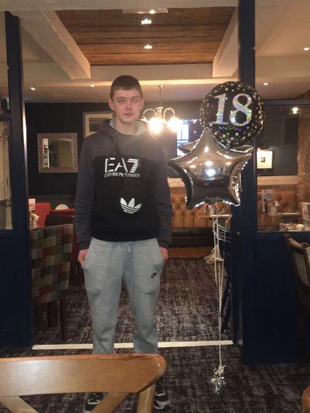 Ellis 18th wish u was ere to celebrate it with us cxxxx