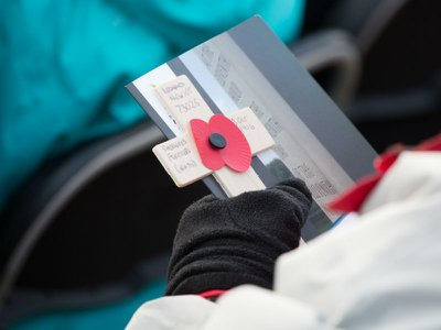 Armistice Day at the Armed Forces Memorial