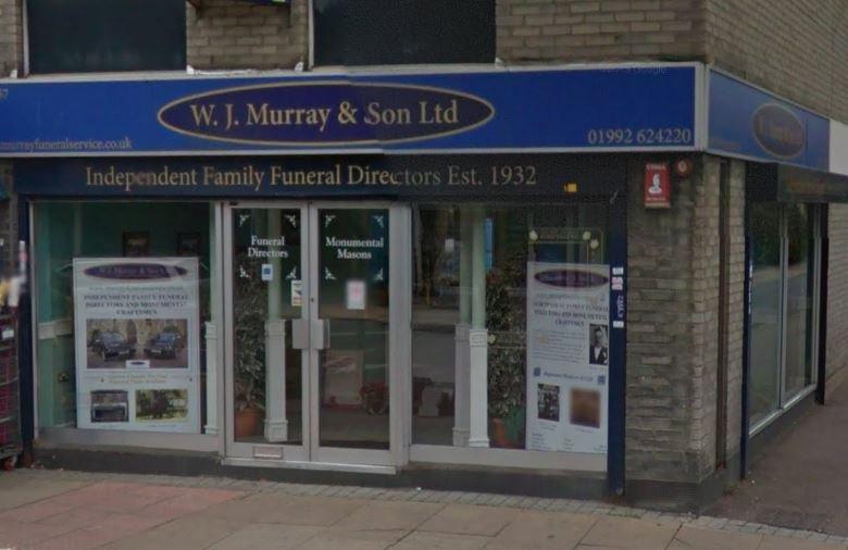 W.J Murray & Son Ltd, Waltham Cross Turners Hill