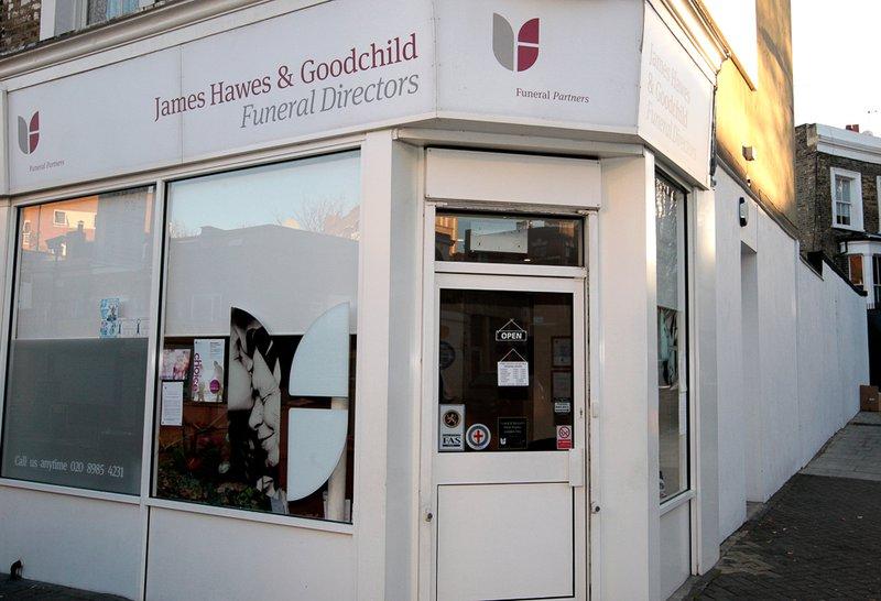 James Hawes & Goodchild Funeral Directors, Hackney