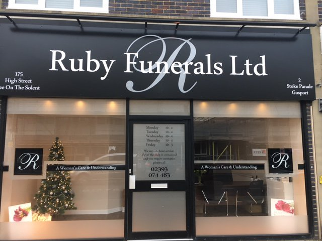 Ruby Funerals, Lee - on - Solent