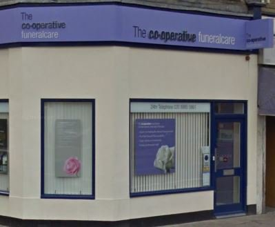 The Co-operative Funeralcare, Bow