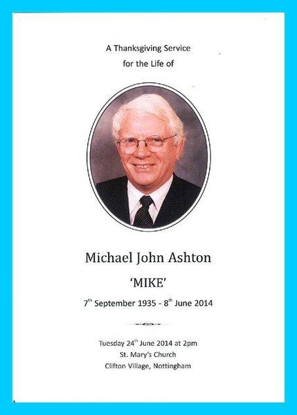 Michael John Ashton