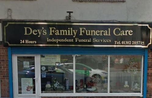 Deys Family Funeral Care, Armthorpe