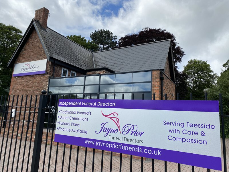 Jayne Prior Funeral Directors, Middlesbrough