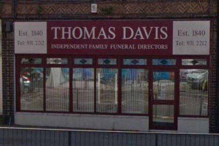 Thomas Davis Funeral Directors, Filton
