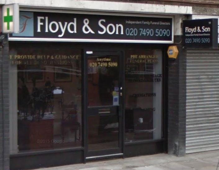Floyd & Son Funeral Directors Ltd, Islington, London, funeral director in London