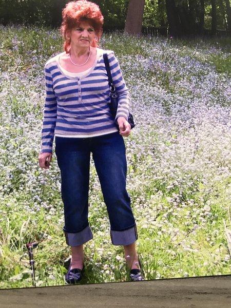 Mum in bluebell woods ❤️
