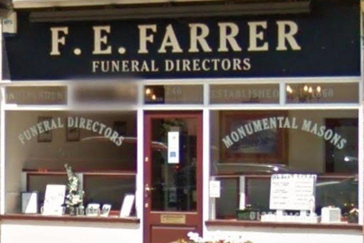F.E Farrer Funeral Directors & Monumental Masons, Brentwood