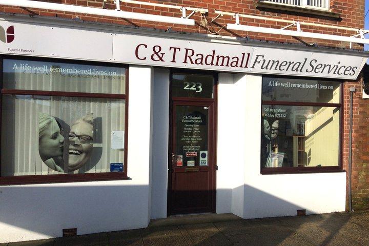 C & T Radmall Funeral Service, Burgess Hill