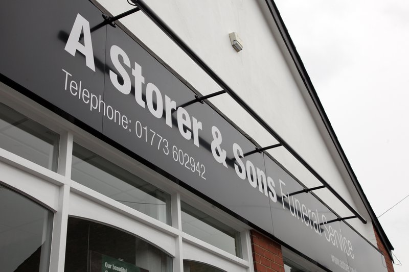 A Storer and Sons Funeral Service, Derbyshire, funeral director in Derbyshire