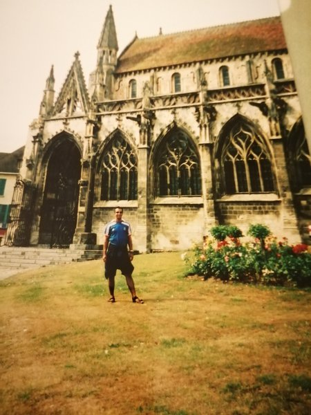 This is Saint Gervaise Church Falase Normandy,my Dad was very proud of his French roots and this was the church our great great grandfather was baptised in