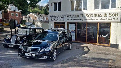 Walter H Squires & Son, Exeter - Exwick, Devon, funeral director in Devon