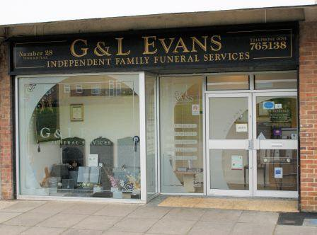 G & L Evans Ltd, Newburgh Place