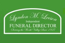 Lyndon M. Leeson Funeral Director