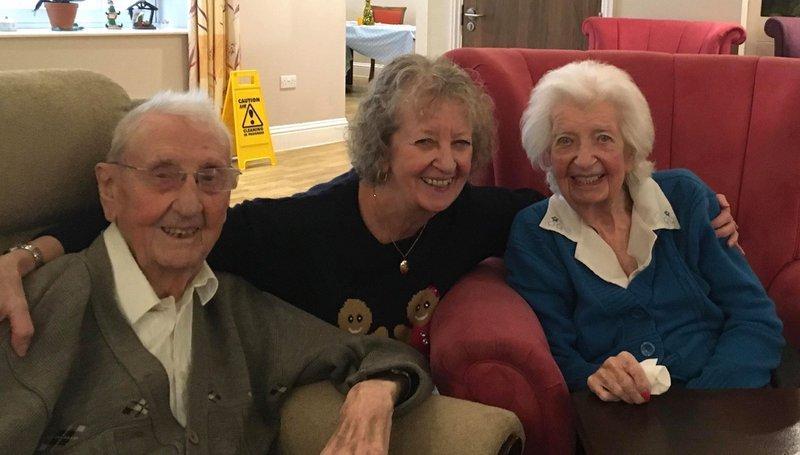 Mum, Dad & Sally January 2020 xxx