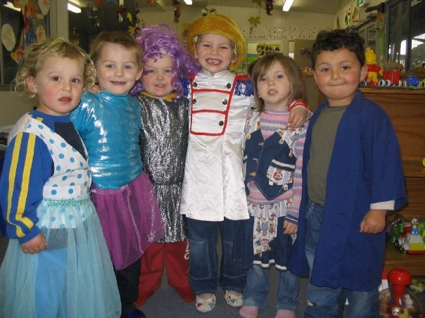 my cutie pie with his friends from daycare  loved forever lil bull frog  xoxo