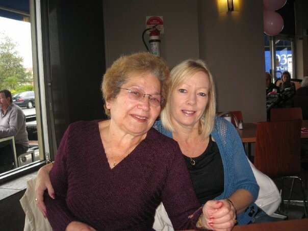 My two beautiful ladies so happy together xoxo