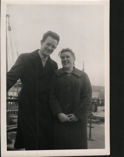 Beryl & Alan (Fred) before they started their life journey together & husband & wife , Parents to John (Dec) Christopher, David, Adrian, Keith & Helen. Grandparents of 7 and Great grandparents of 4.