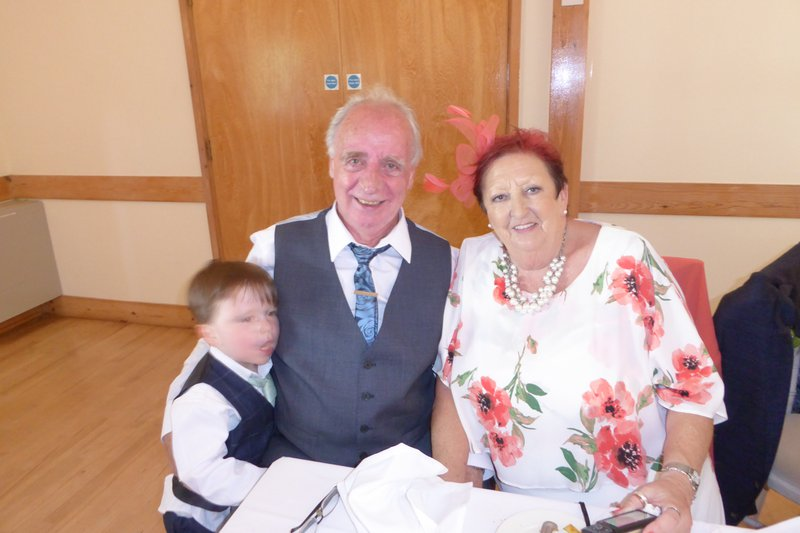 At Andrew &  Helen's  wedding 2018, a really enjoyable day.
