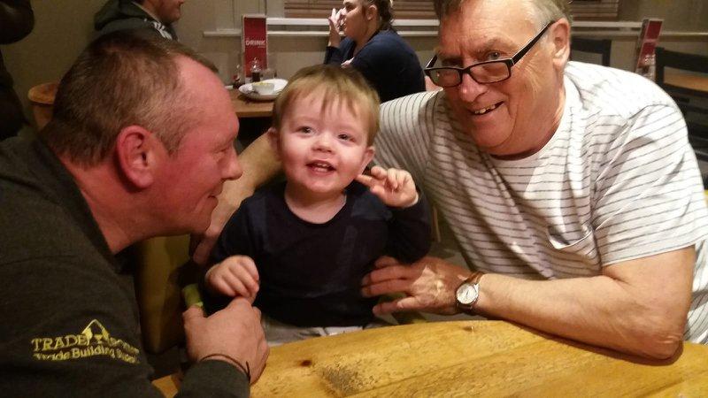 3 generations of Bradford men x