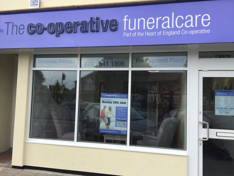 The Co-operative Funeralcare Kenpas Highway, Warwickshire, funeral director in Warwickshire