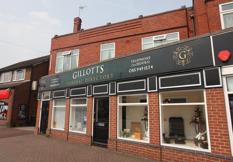 Gillotts Funeral Directors, Stapleford, Nottingham, funeral director in Nottingham