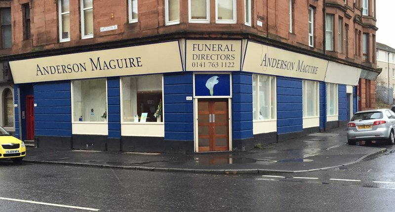 Anderson Maguire Shettleston, City of Glasgow, funeral director in City of Glasgow