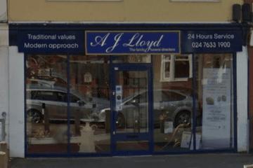 A J Lloyd Funeral Directors, Keresley