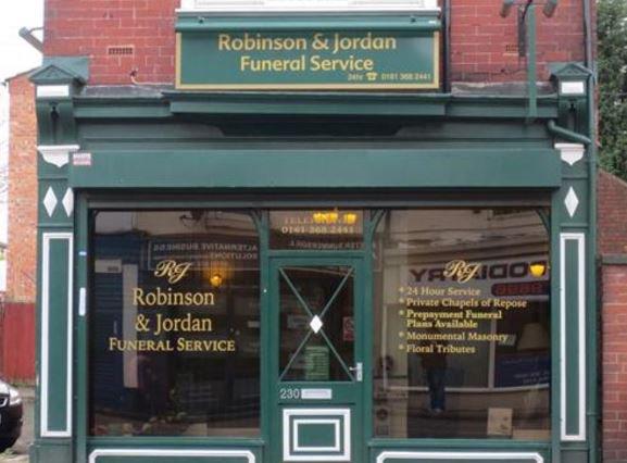 Robinson & Jordan Funeralcare, Hyde