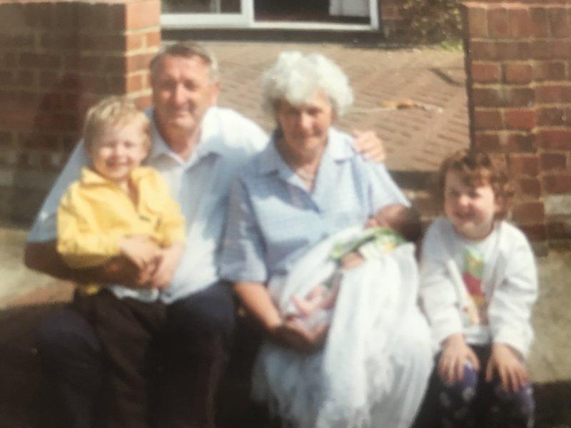 With Josh, Sam and Alana