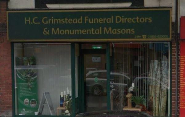 H C Grimstead Funeralcare, Ruislip