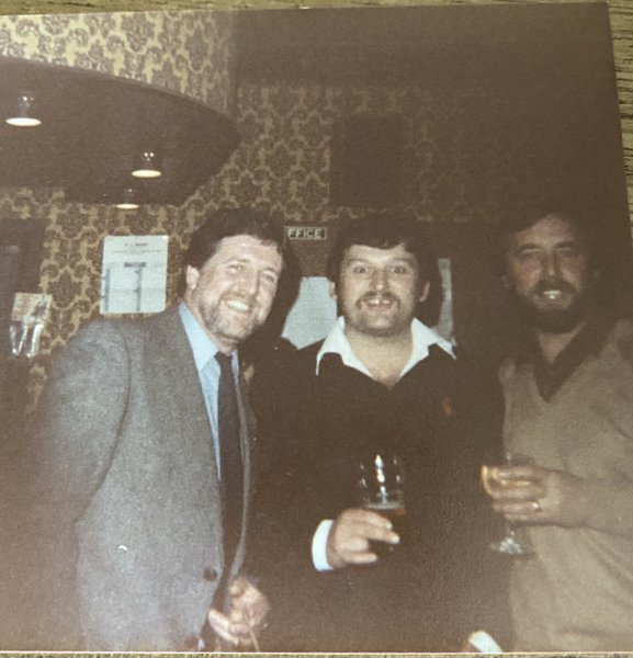 Dad with some his long time friends x
