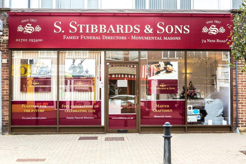 S. Stibbards & Sons, Shoeburyness, Essex, funeral director in Essex