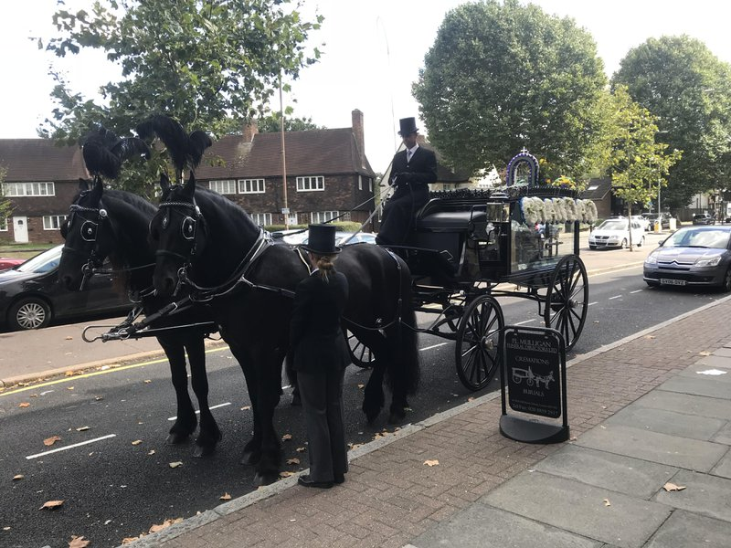 P L Mulligan Funeral Directors, Eltham, London, funeral director in London