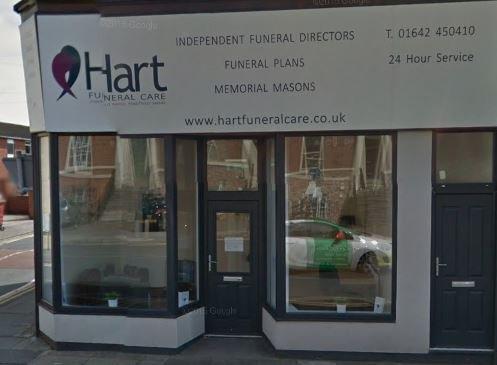 Hart Funeral Care, Stockton